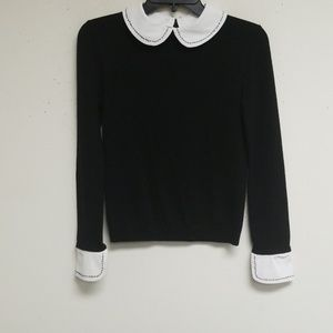 Alice + Olivia Black and White Top Size XS